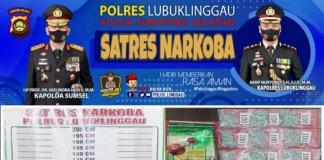 Hendak Diedarkan di Bengkulu, Satresnarkoba Polres Lubuklinggau Amankan 1 Kg Sabu dan 940 Pil Ekstasi dari Jambi