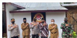 Sambut Hari Bhayangkara ke 75, Polda Sumsel Bedah 38 Rumah Warga