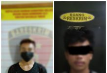 Tim Opsnal Polsek Baturaja Timur Amankan 2 Pelaku Spesialis Pencuri Kotak Amal Masjid