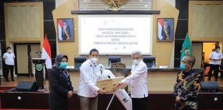 Pemprov Sumsel Salurkan Tabung Oksigen Bantuan SKK Migas ke RS Rujukan COVID-19