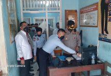 Antisipasi Kebakaran, Kapolres Muratara Berikan Bantuan CCTV ke Lapas Surulangun Rawas