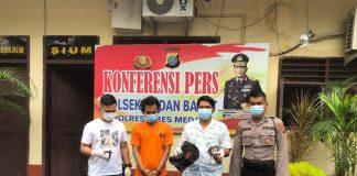Reskrim Polsek Medan Barat Tangkap Tangan Pelaku Pencurian Kabel Eks RS Tembakau Deli PTPN II