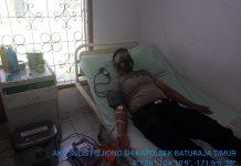 Prihatin Saat Mendengar Ada Warga Alami Pendarahan Pasca Melahirkan, Kapolsek di Baturaja Timur Ini Bantu Donorkan Darahnya