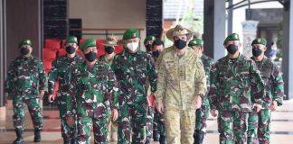 Panglima Divisi I AD Australia Melakukan Kunjungan Kehormatan ke Mabesad