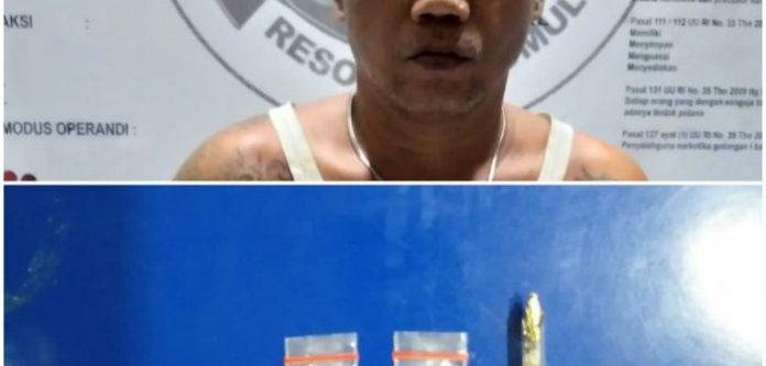 Satnarkoba Polres Prabumulih Bongkar Jaringan Narkoba Perum Vina Sejahtera Gunung Ibul