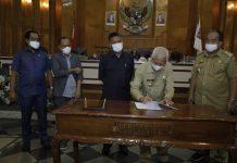Tujuh Fraksi DPRD Asahan Setujui Perubahan APBD TA 2021 Jadi Perda