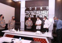 Kapolda Sumsel Terima Kunjungan Pimpinan BRI Wilayah Palembang